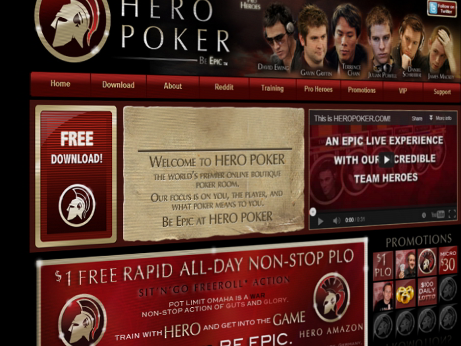 "Hero Poker will close its room on the Merge Network effective today. All player balances will be transferred to a ""preferred"" Merge partner."