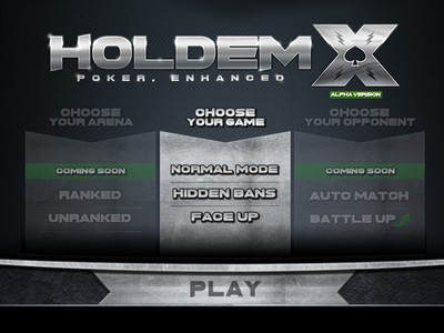 A select group of people will gain access this week to the alpha version of HoldemX, a new game by Mediarex Enterprises, parent company of the Global Poker…