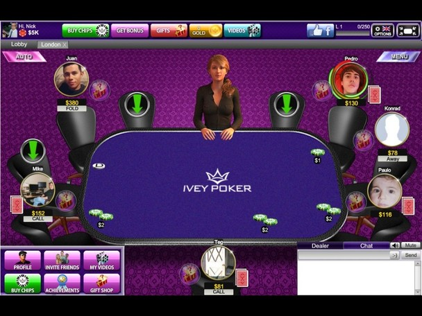 Ivey poker app review