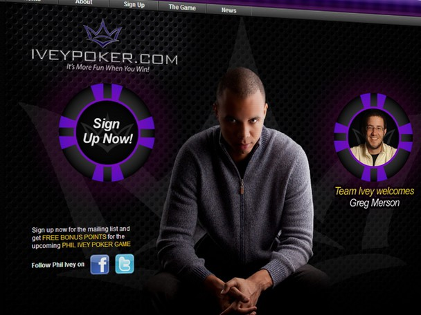 Phil Ivey has launched a website that he hopes will change the landscape of social media poker.