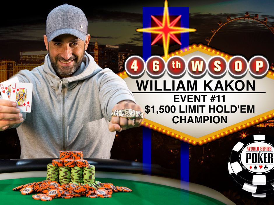 Keith Lehr added a second bracelet to double his collection, and amateur player William Kakon made the WSOP dream come true by acquiring his first.