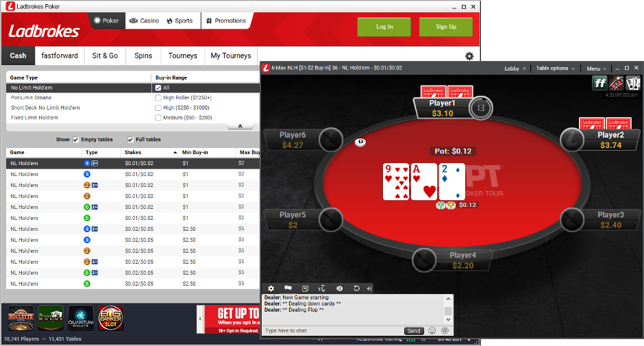 online betting offers ladbrokes poker