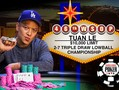 Yesterday's only bracelet went to Tuan Le who achieved a remarkable feat in winning the $10,000 Limit 2-7 Triple Draw Lowball Championship for the second year…