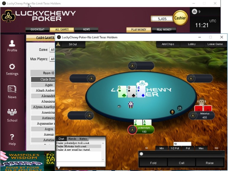 "Andrew Lichtenberger, an American poker professional known online as ""LuckyChewy,"" has launched his own online poker room, a site that promises to…"