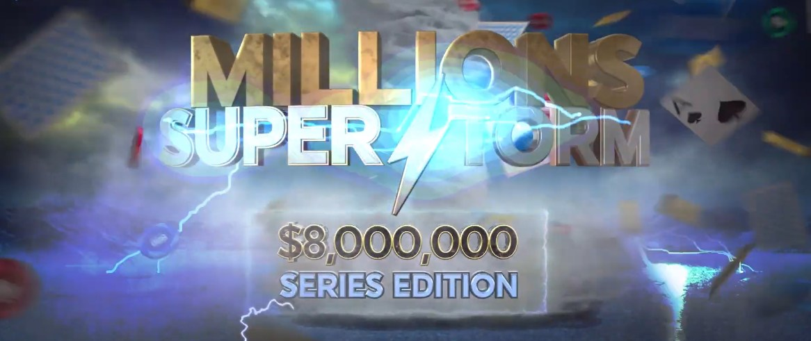 888 Offers Heaps of Poker Action with Millions Superstorm