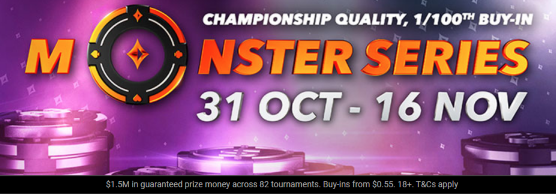 Partypoker Monster Series: What To Expect This Weekend