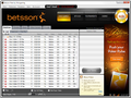 Betsson and other Microgaming rooms now sport the simplified lobby, with new navigation tabs.