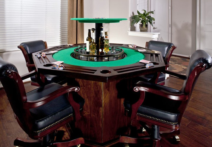 Poker table technology perfect for ballers shot callers - Table de restaurant occasion a vendre ...