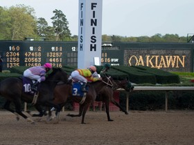 Saturday's 10th race at Oaklawn Park will be the $900,000 Rebel Stakes.  A field of 11 3yr olds will run 1-1/16 miles around 3 turns with the winner accumulating…
