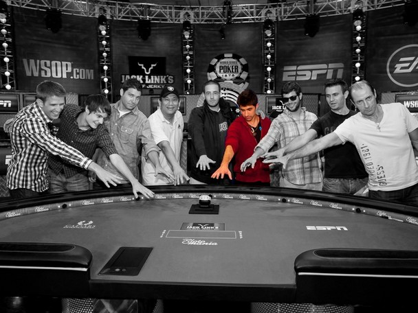 2012 World Series of Poker Main Event Final Table member Jesse Sylvia