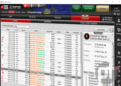 First-Ever PokerStars PACOOP: Interesting Facts and Key Statistics