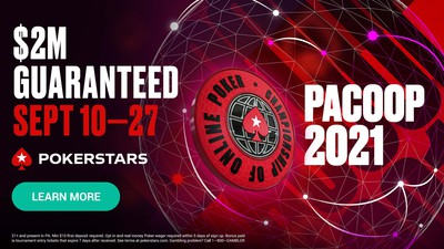 PACOOP 2021 on PokerStars Pennsylvania: Everything You Need to Know