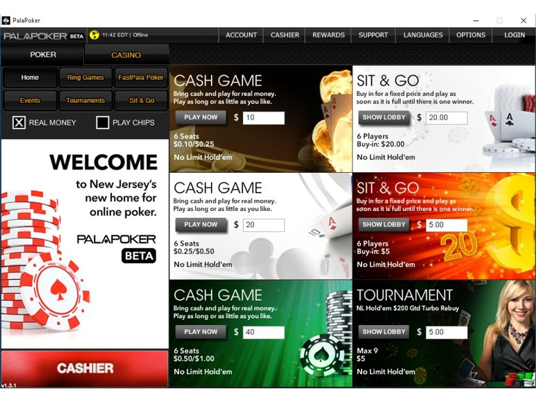 The regulated New Jersey online poker market now has its sixth online poker room with the launch of PalaPoker on Tuesday.