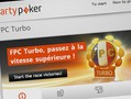 Partypoker France is running a new turbo tournament series the week before PokerStars France runs its own Flash Series.