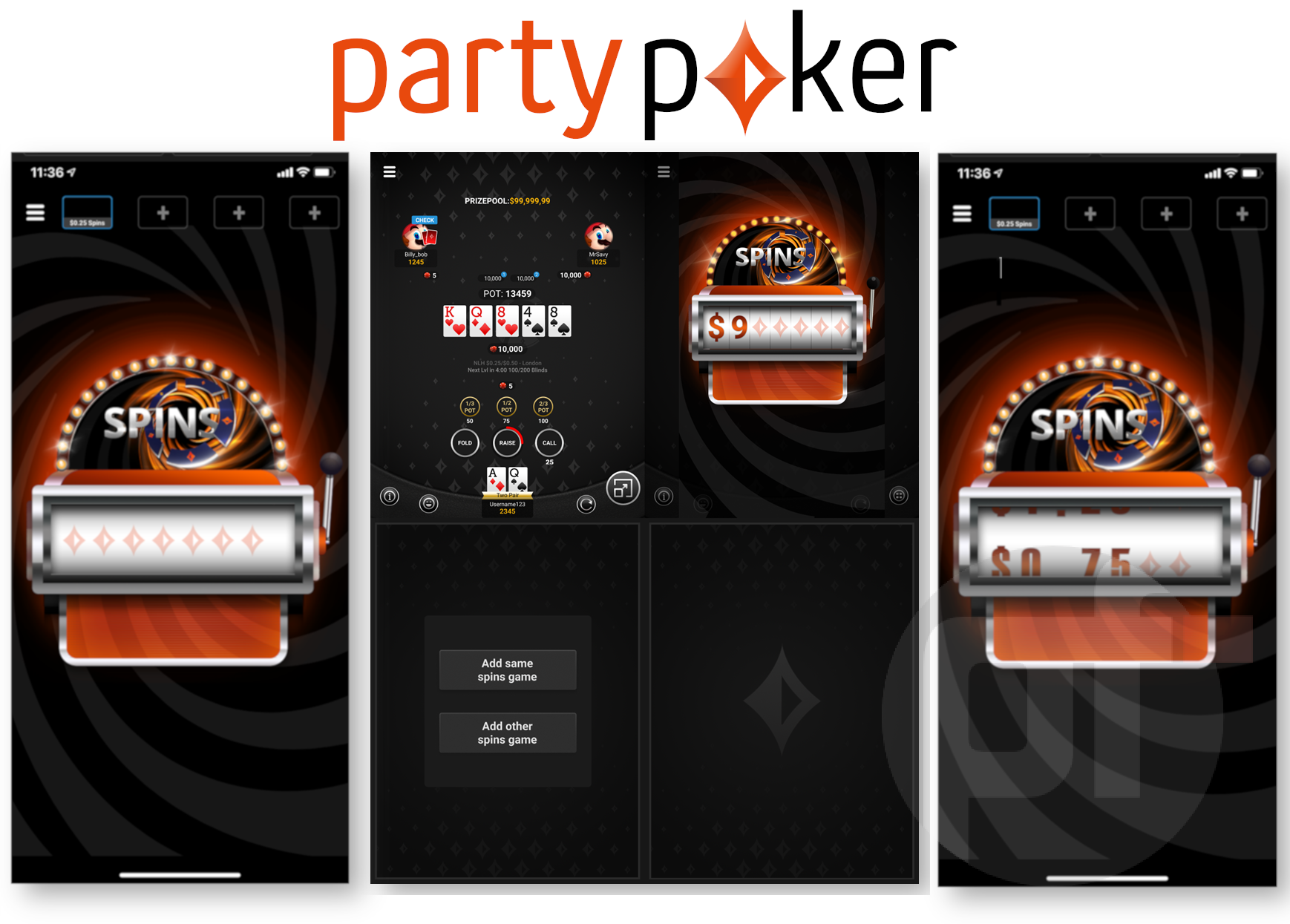 partypoker has released an all-new mobile app with new exciting features. partypoker's new mobile app includes completely redesigned tables making it much easier for players to play with a single hand.