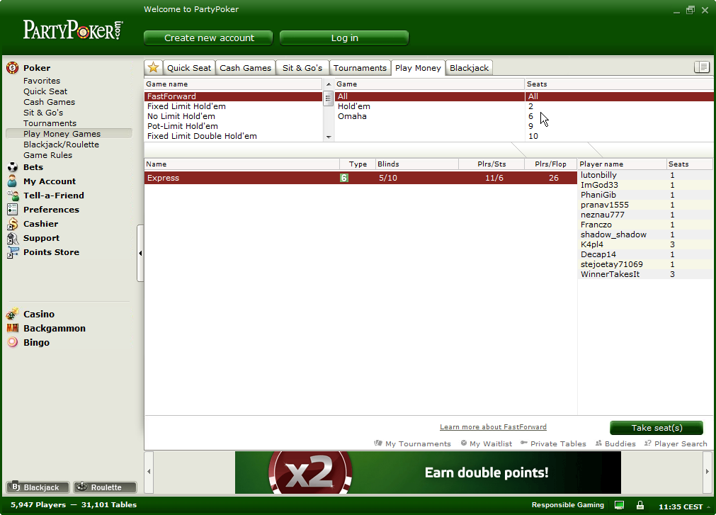 Zoom competitor Fast-Forward debuts with a play-money test on PartyPoker.