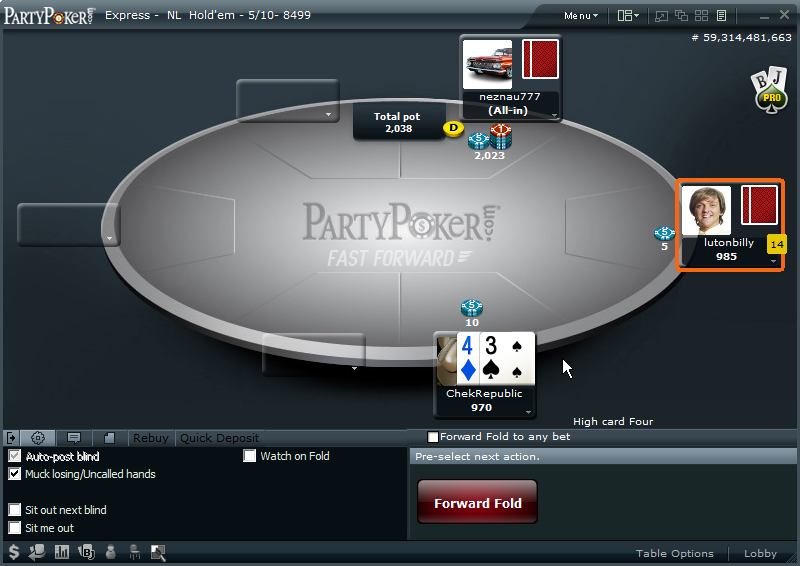 poker bwin test
