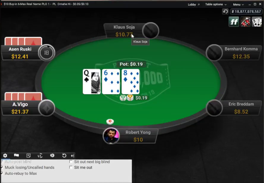 Partypoker has begun the full-scale deployment of real name cash game tables following a software update to its client.