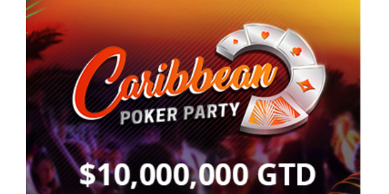 Partypoker is once again making its mark on the global live poker tournament scene with its $10 Million guaranteed Caribbean Poker Party next month in the Dominican Republic.
