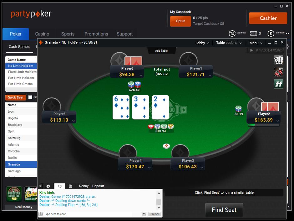чат покер онлайн
