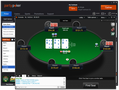 Partypoker has deployed an update to its online poker software in the dot-com market. The new design includes a new default table theme and card design, along with half a dozen new themes that can be chosen in options.