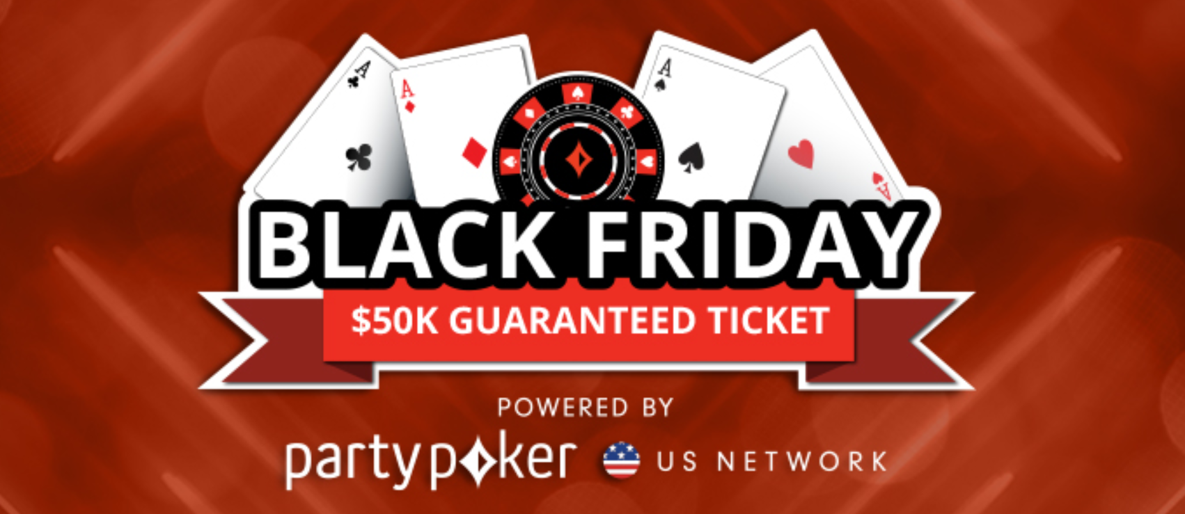 Get Free Entry Into The 50 000 Guaranteed Black Friday Tournament On Partypoker Us