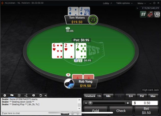 Partypoker to Trial Real Names at High Stakes Tables Next Month