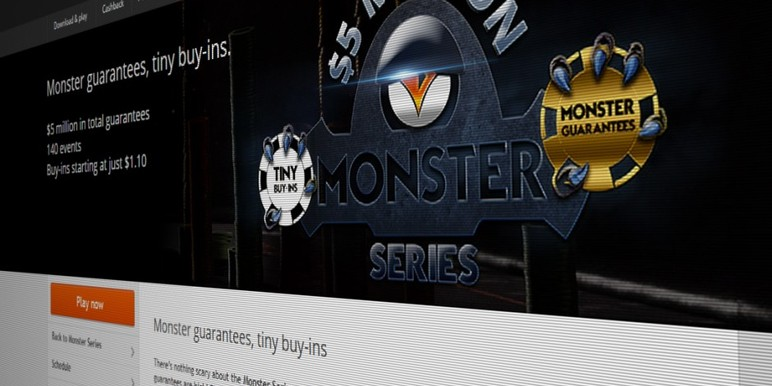 Partypoker's Monster Series is the brainchild of industry veteran and new MTT consultant, Brian Slick.