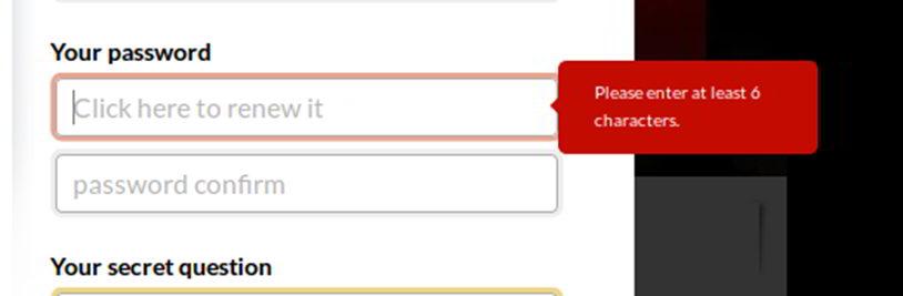 how to set good password lendth