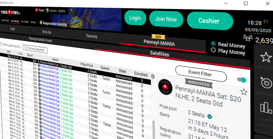 Pennsyl-MANIA: PokerStars PA Unveils Biggest Guaranteed Online Poker Tournament in Pennsylvania History