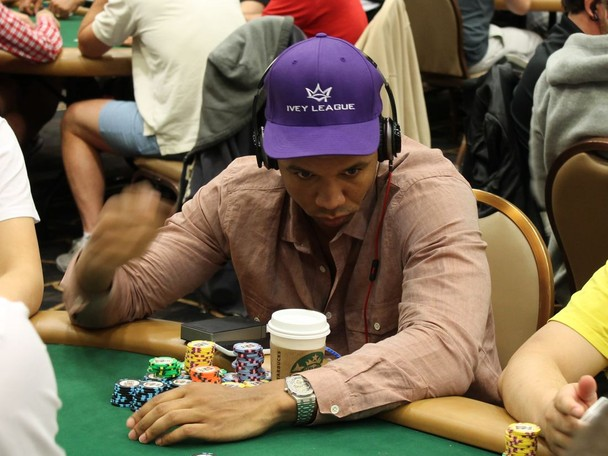 WSOP Main Event Highlights. Phil Ivey has second largest stack.
