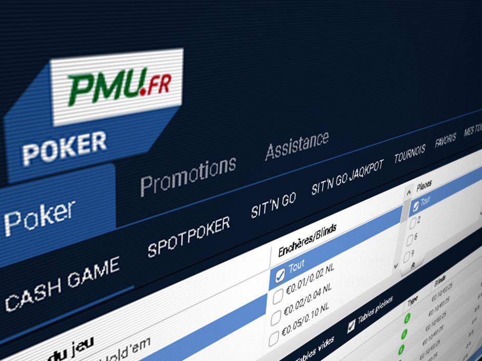 Partypoker's French network is made up of PMU, bwin.FR and partypoker.FR. Every licensed online poker network in France is now authorized to share its player pool across borders.