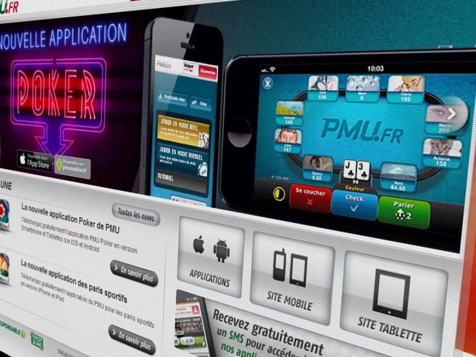 Primarily a horse-betting and sports operator, PMU also runs an online poker room on PartyPoker France.