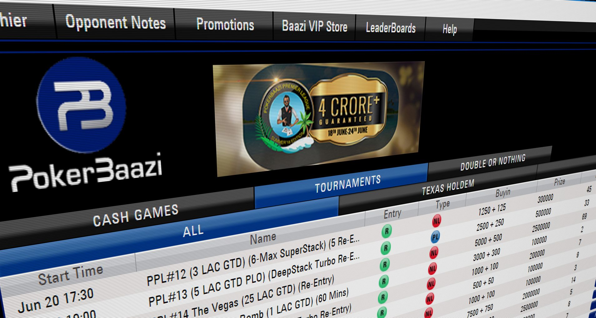 Indian independent online poker room PokerBaazi is back with its most prestigious tournament series, the  PokerBaazi Premier League (PPL).
