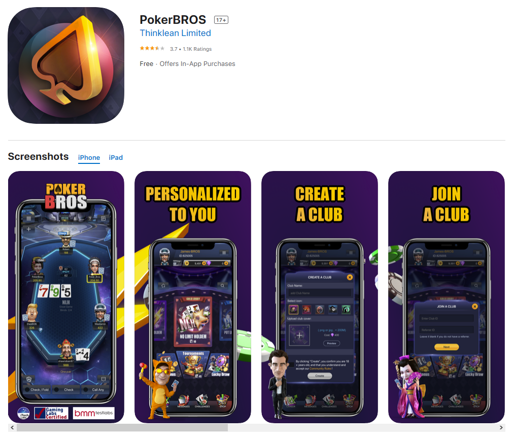 "PokerBros' Mobile App Returns to US Apple App Store After ""Misunderstanding"""