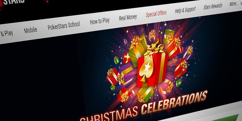 PokerStars is again celebrating the festive period with a global four-week promotion which runs a different promotion every day from now until Christmas Day.