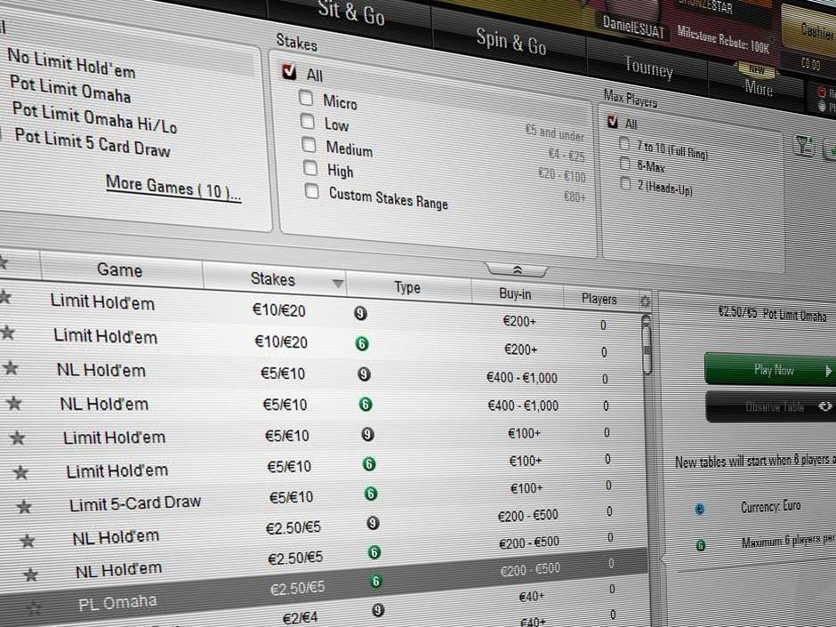 "PokerStars has announced it will soon be trialing a new system called ""Seat Me,"" which will remove the ability to choose a table and seat."