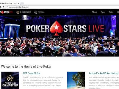 pokerstars live events