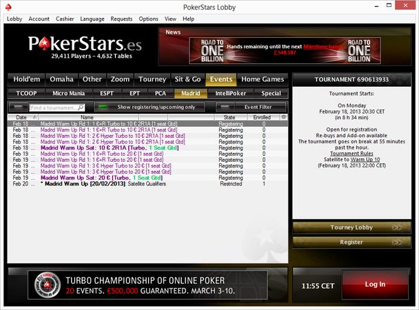 Pokerstars site rules