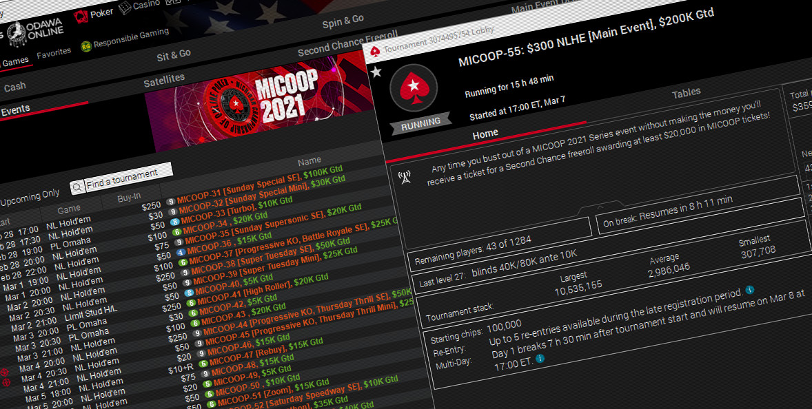 Almost 900 Players Play MICOOP Main Event, Capping Off Huge First MTT Festival in Michigan