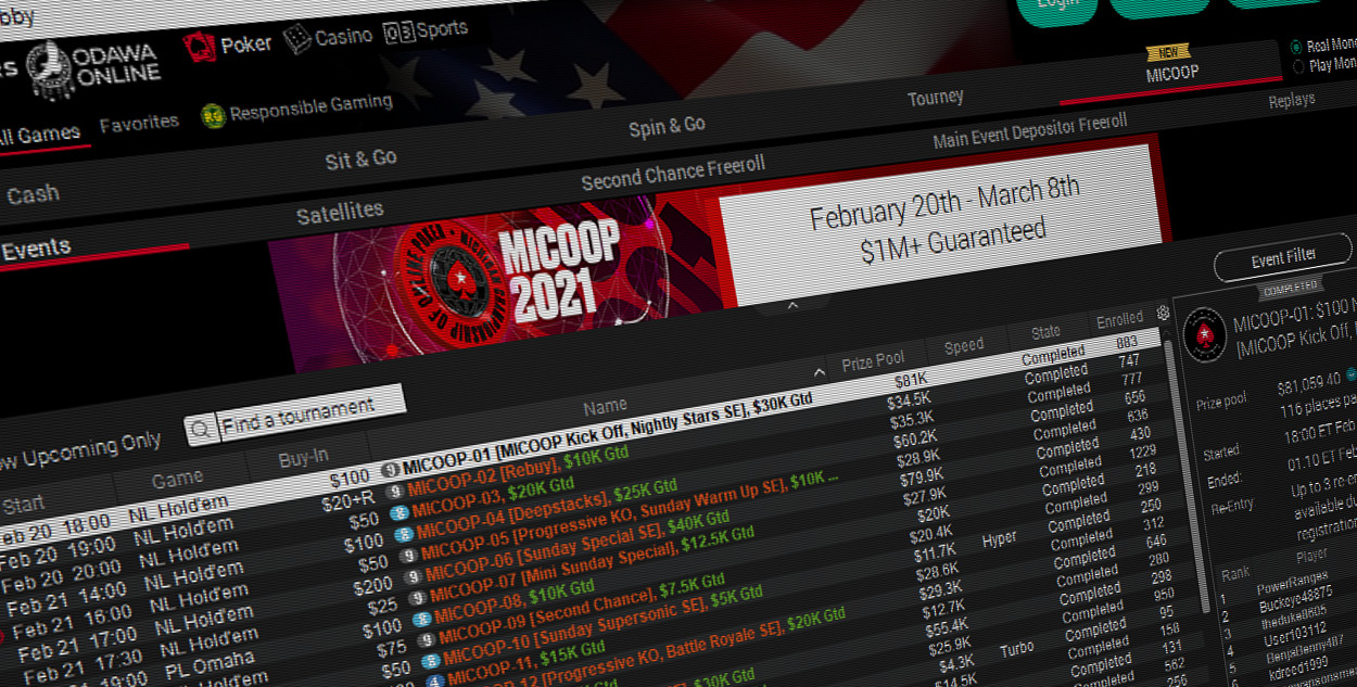 Guarantees Doubled for PokerStars MICOOP Weekend Events Following Huge Start to Series
