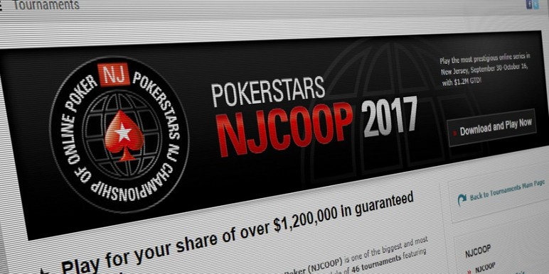 PokerStars' New Jersey Championship of Online Poker is already underway, and the Garden State Super Series is on the calendar for next week.