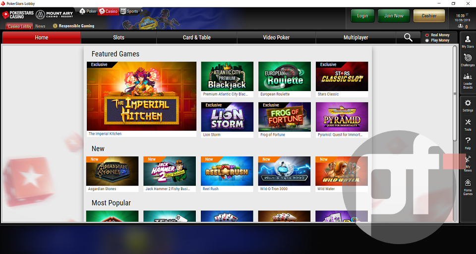 Exclusive A First Look At Pokerstars Casino Game Offerings In