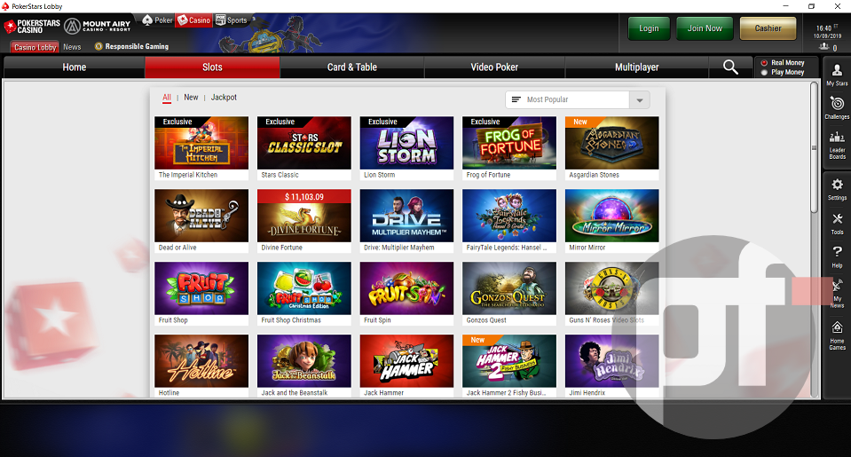 Exclusive A First Look At Pokerstars Casino Game Offerings In Pennsylvania Pokerfuse