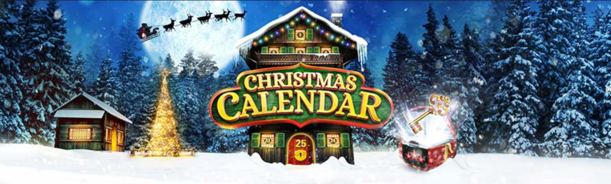 "PokerStars' four-week long festive promotion ""Christmas Calendar"" makes its debut in the newly launched Pennsylvania online poker market."