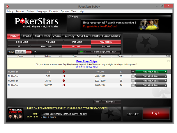 pokerstars mac download chip