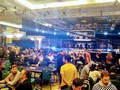 It lasted almost exactly two hours, spanned a break and two blind levels, but the money bubble has finally burst at the PokerStars Players No Limit Hold'em…