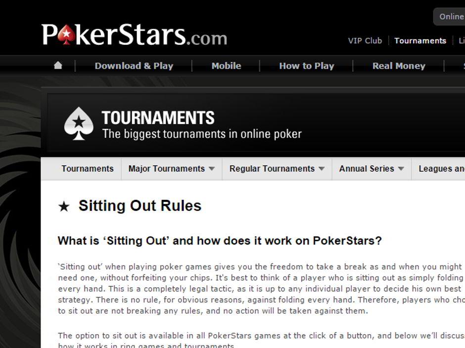 Pokerstars Tricks
