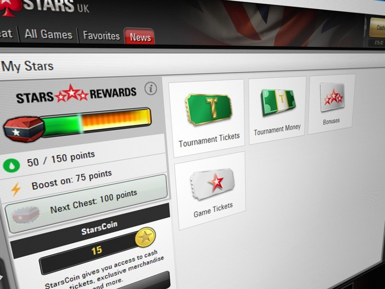 PokerStars has introduced its new loyalty program to almost all of its online poker markets Thursday.