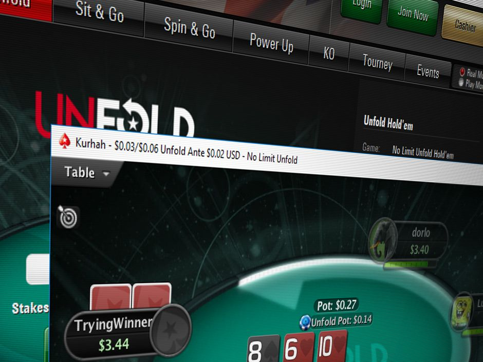 PokerStars has announced that it will be removing Unfold Hold'em.